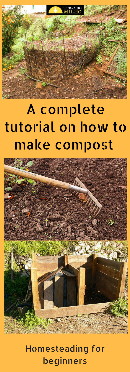 Two ways of making compost