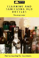 sterilize bottles
